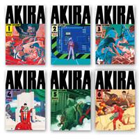 《阿基拉》1-6册全集 东立重印版