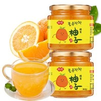 京东PLUS会员 : 琼皇 蜂蜜柚子茶 500g*3瓶