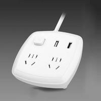 历史低价 : DERIPUS 戴利普 LDB MAX2500 USB插排 2插位