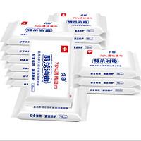 贞田 75%酒精湿巾 130*180mm*10片*20包